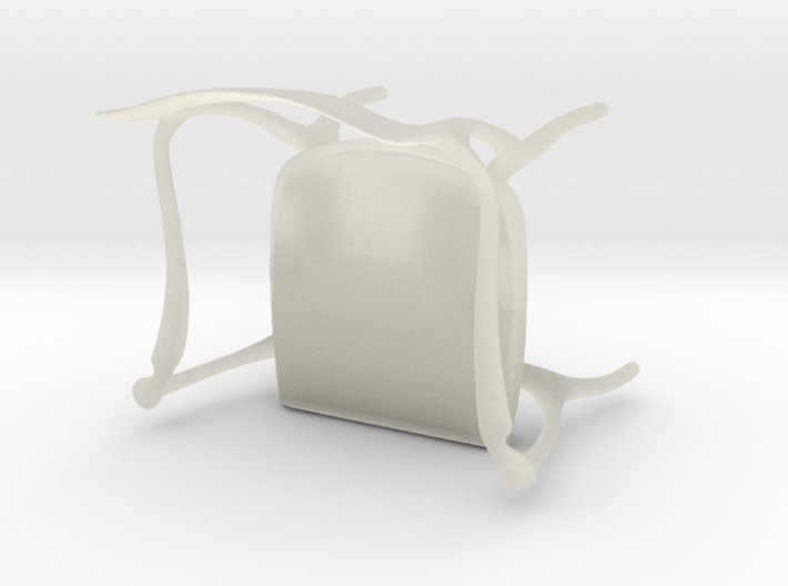 Fluffy Chair 3d printed