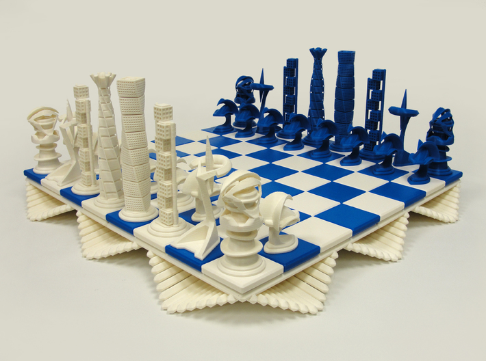 Chess Set Pawn 3d printed 3D Printed Prototype