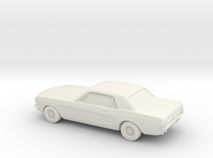 1/87 1964 Ford Mustang GT 3d printed