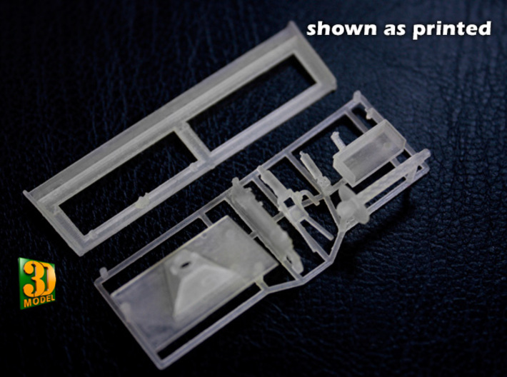IDF 30cal MG-Window mount (1:35) 3d printed M2/M3 IDF MG window mount - actual print