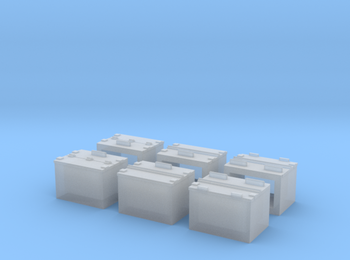 Caboose MP Battery Box 3d printed