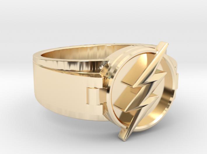 V2 Flash Ring Size 10, 19.80 mm 3d printed
