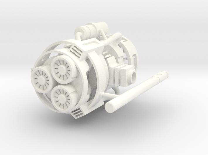 PM-07 DEEP IMPACT 3d printed