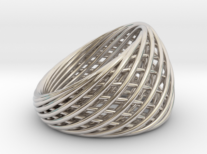 [Ring]Weave|Size11|20mm 3d printed