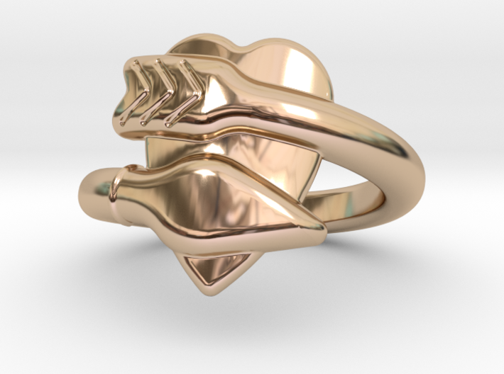 Cupido Ring 18 - Italian Size 18 3d printed