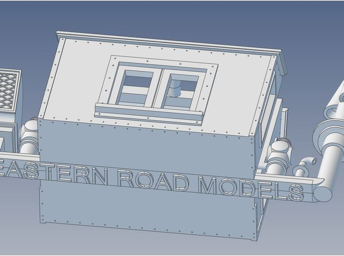 NAR Caboose Parts HO Scale 3d printed