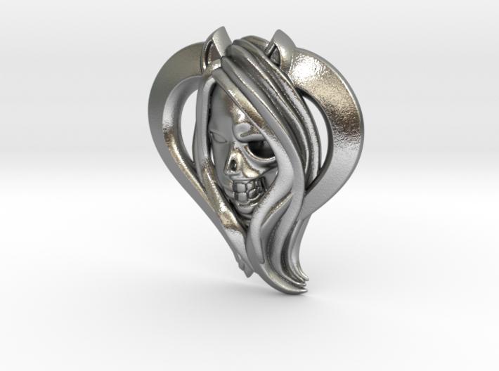FoxGirl HalfSkull 3d printed