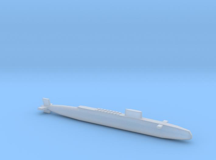 HMS Resolution SSBN, Full Hull, 1/2400 3d printed