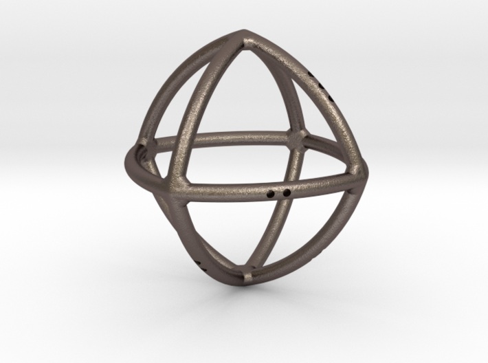 Convex Octahedron 3d printed