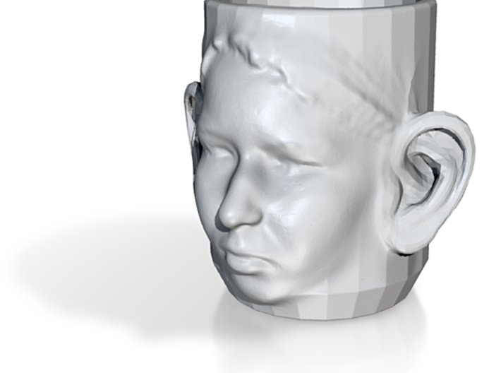Cup with Face and Ears 3d printed