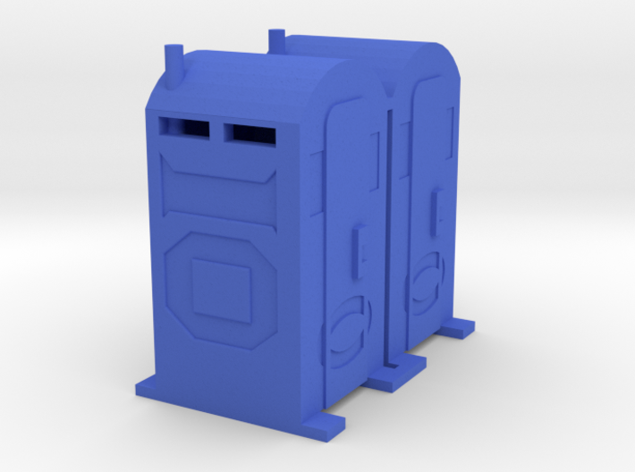 PortaPotty - 'O' 48:1 Scale Qty (2) 3d printed
