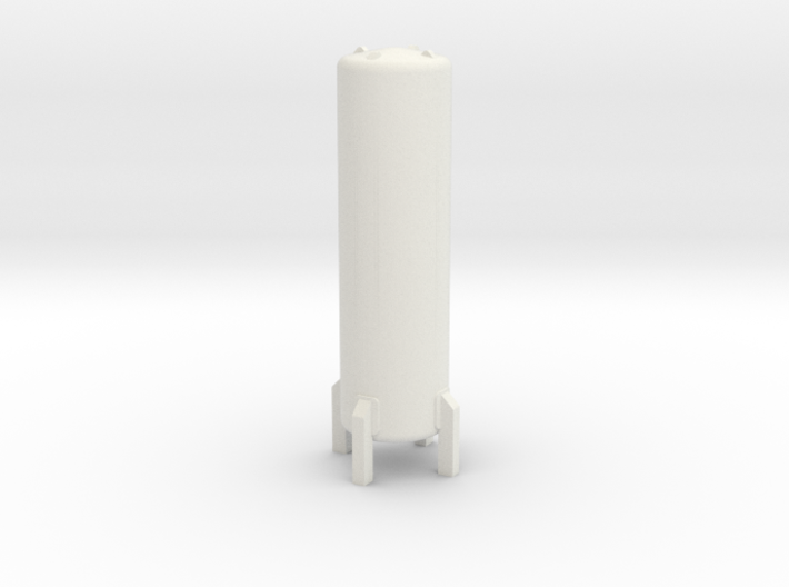 N Scale Cryogenic Tank 38mm 3d printed