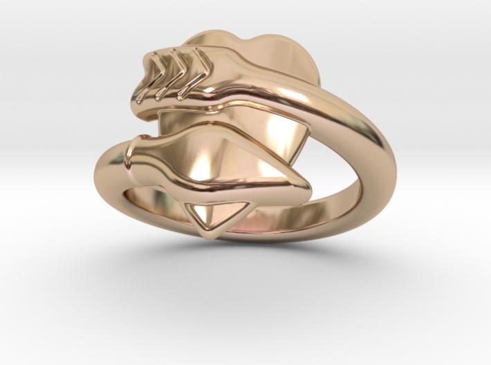 Cupido Ring 25 - Italian Size 25 3d printed