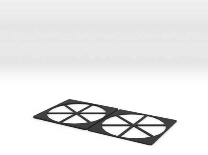Chauvet Q-Wash fan filter 3d printed