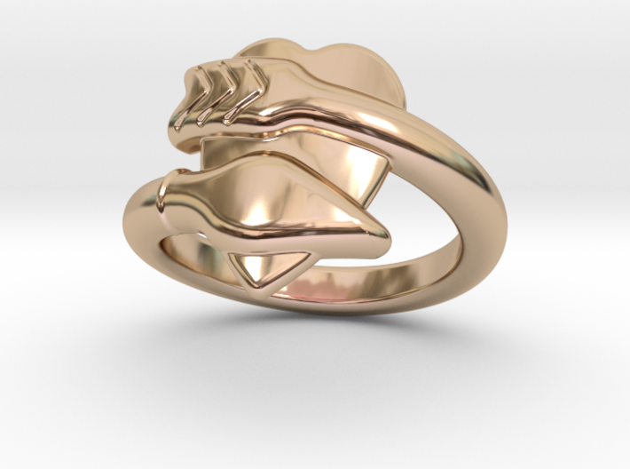 Cupido Ring 32 - Italian Size 32 3d printed