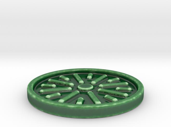 Non Stick Coaster 3d printed