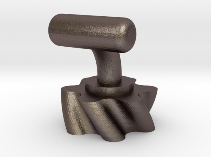 Vogelsang rotary Lobes Cufflinks 3d printed