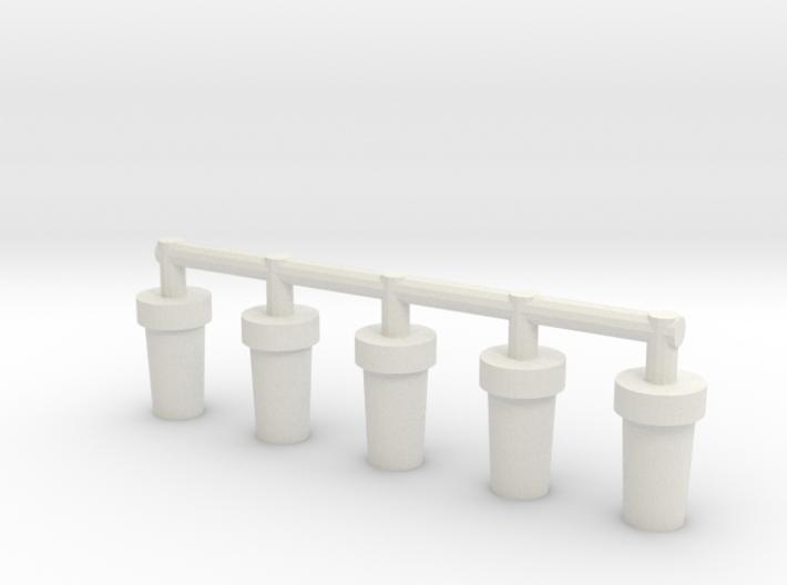 Fuselage Pegs (scout) x5 3d printed