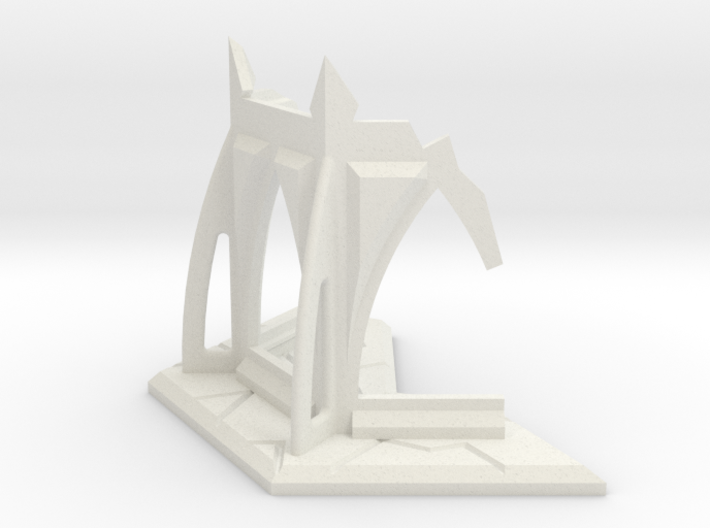 Gothic Temple Ruin 3d printed
