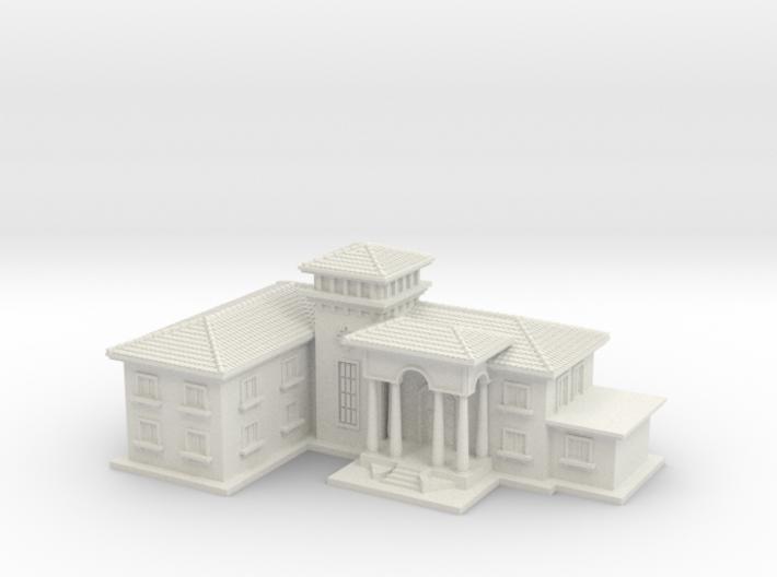 Mansion 3d printed