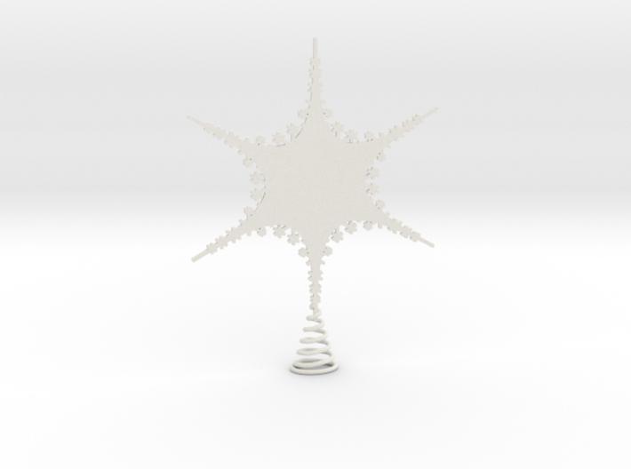 Sparkle Snow Star 2 - Fractal Tree - S 3d printed