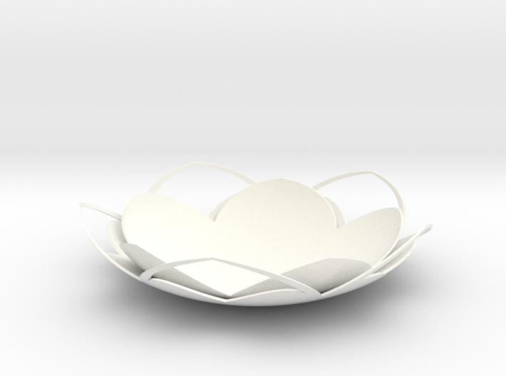 Tealight Holder Waterlily 3d printed