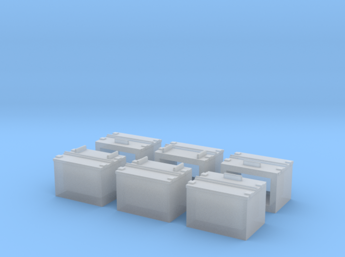 Caboose ATSF Battery Box 3d printed