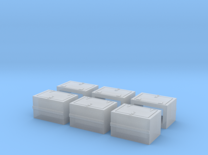 Caboose MKT Early Battery Box 3d printed