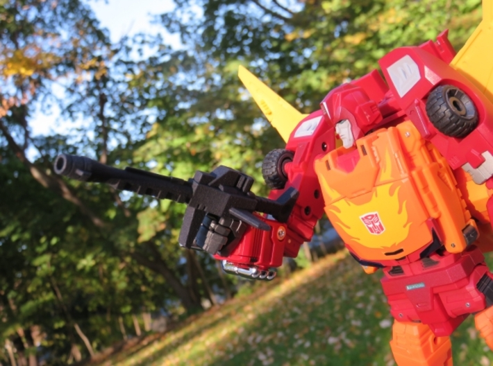 TF DX9 Carry Gun 3d printed