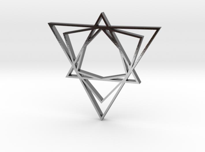 Arabesque: Love Triangle 3d printed