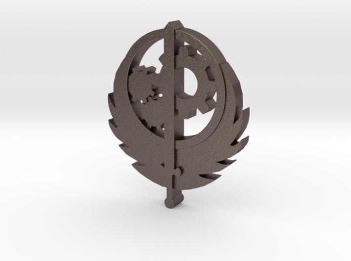 Brotherhood of Steel Pendent 3d printed