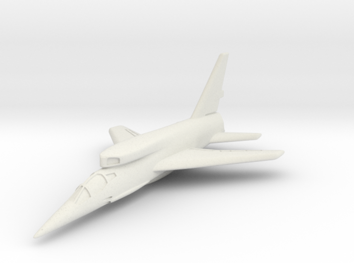 North American F-107A (In Flight) 6mm 1/285 3d printed