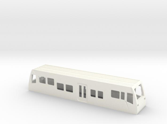 Gehäuse LVT Burgenlandbahn Spur TT 1/120 1-120 1:1 3d printed