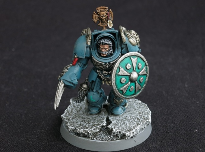 Miniature Shield 3 3d printed Model not supplied painted