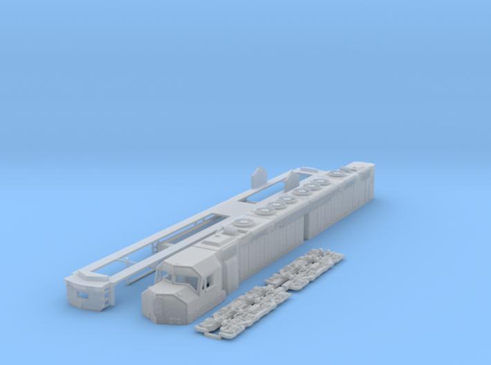 TT Scale DD40ax 3d printed