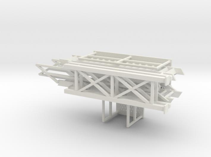 HO 1/87 Loading Platform for depot/industry 3d printed