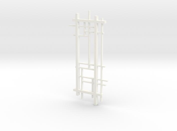 De Stijl: Composition No. 1 3d printed