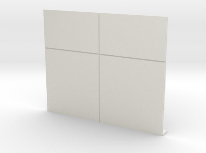 Blank Wall 3d printed