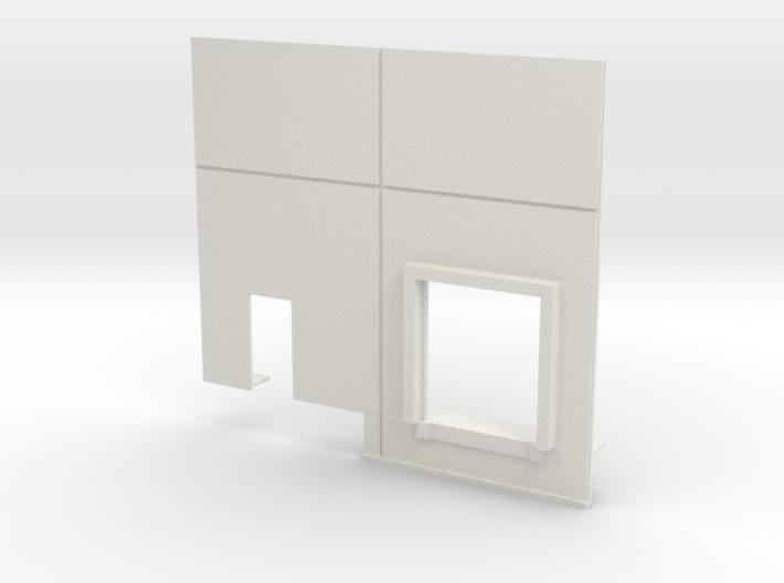 Left End Dock; Load-In 3d printed