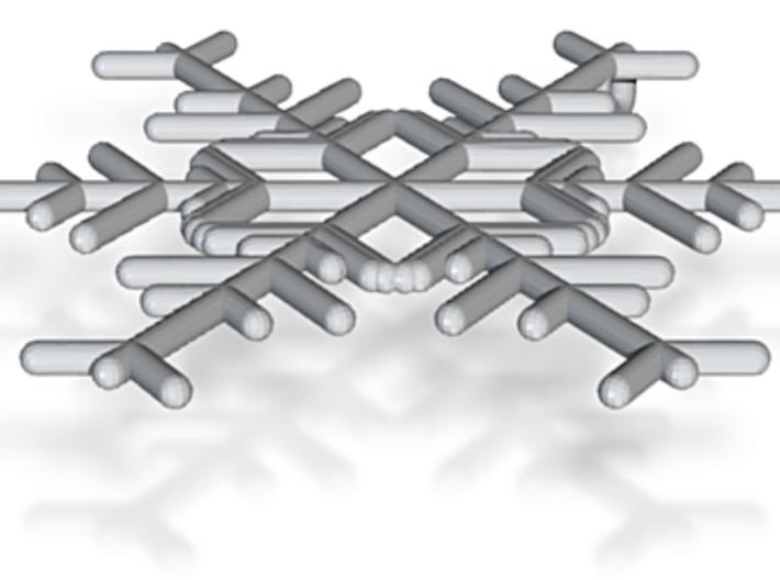 Snowflakes Series I: No. 1 3d printed