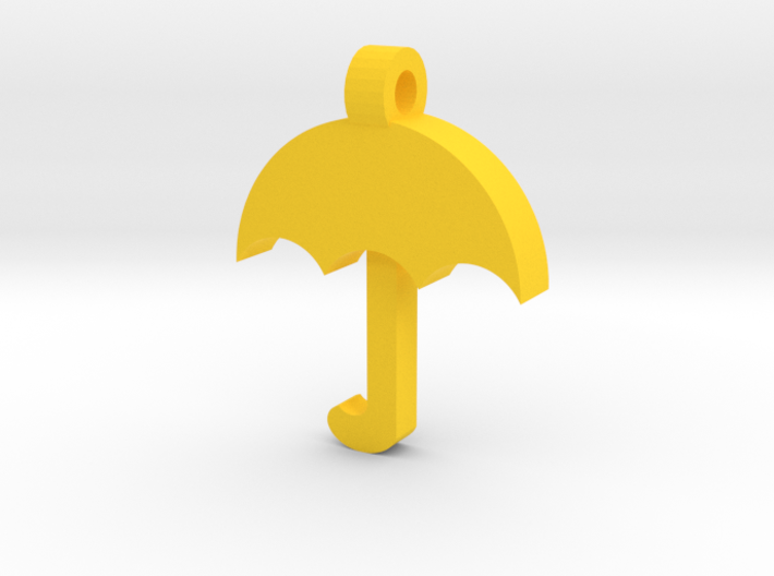 Umbrella Pendant 3d printed