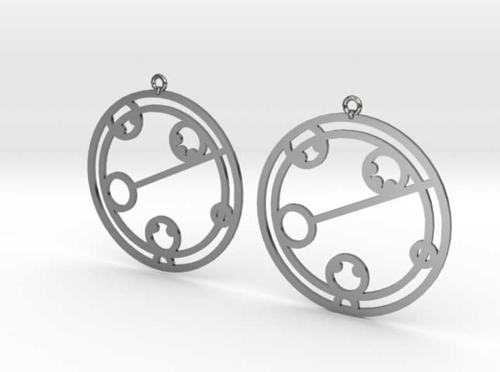 Kaelyn - Earrings - Series 1 3d printed