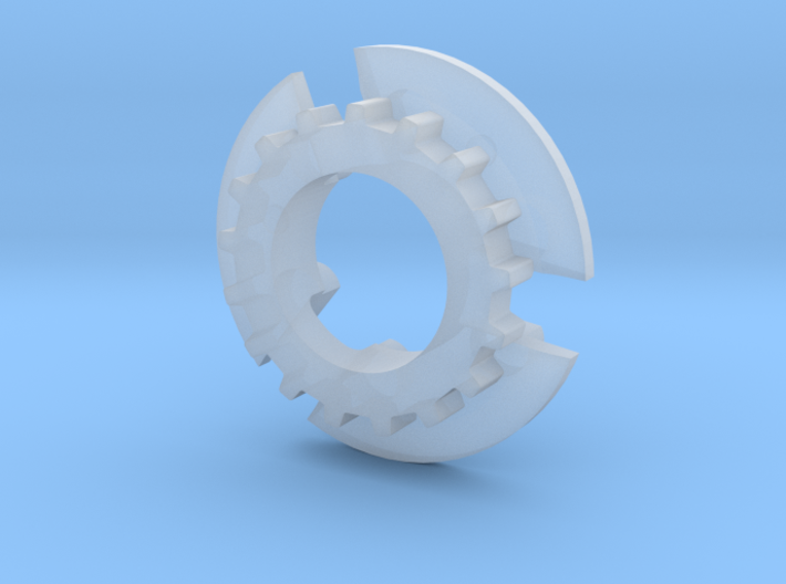 S99-S03_17 17 tooth pulley for 4WD system 3d printed