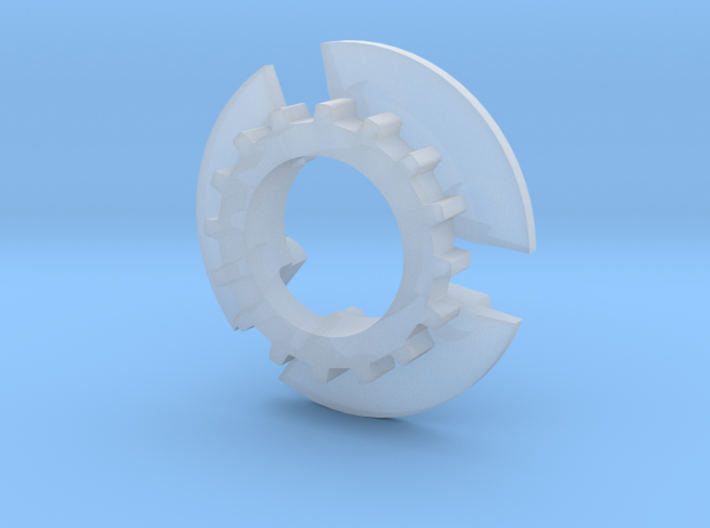 S99-S03_16 16 tooth pulley for 4WD system 3d printed