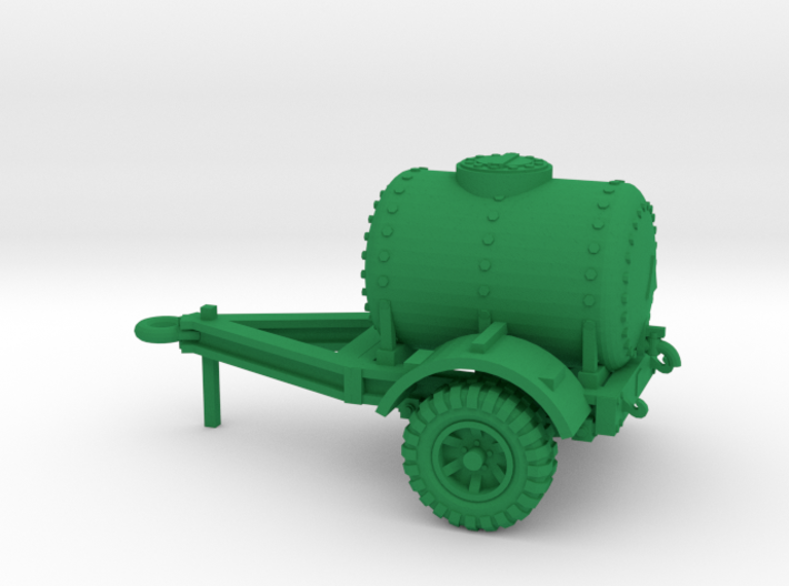 28mm scale water trailer - downloadable 3d printed