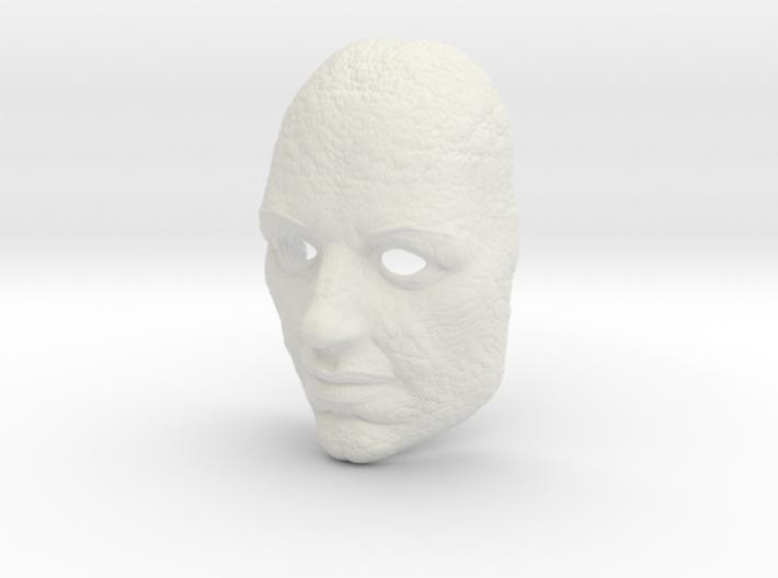 Mask Lizardman 3d printed