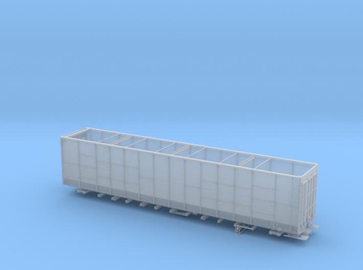 BN 585200-585349  lot17308 Woodchip Gondola HO 3d printed