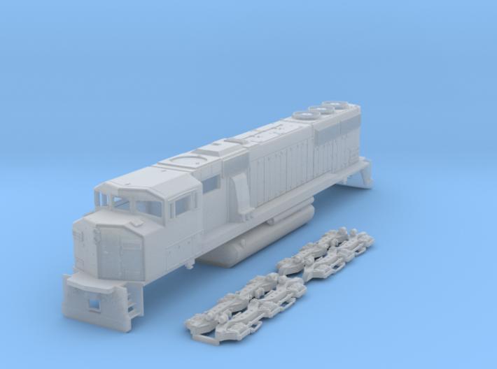 TT Scale SD60m Triclops 3d printed