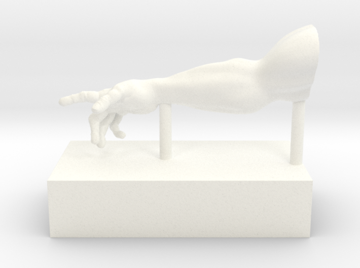 ArmRBookend 3d printed Right Arm set of two.