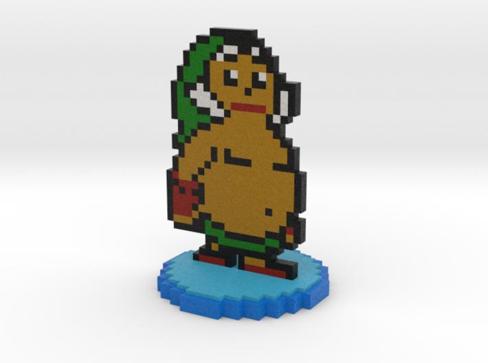 8-Bit Goron Link 3d printed